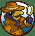 FarmVille Inspector Penguin Case