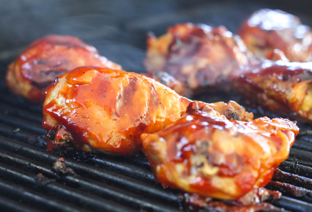 Barbecue Thermometer Grilled Bbq Chicken - The Farmwife Cooks