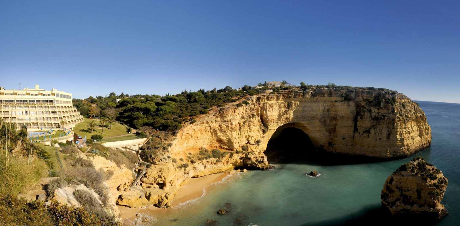 Hotel Tivoli Carvoeiro Algarve Booking Faro Airport Transfers To Tivoli Carvoeiro Faro Airport