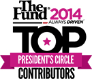 The Fund 2014 Presidents Circle and Top Contributor