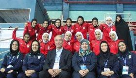 مسابقه فوتبال بین تیمهای زنان ایران  و سوئد به جمعه موکول شد