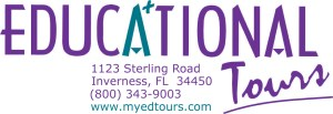 EDTOURS LOGO (COLOR) WITH ADDRESS