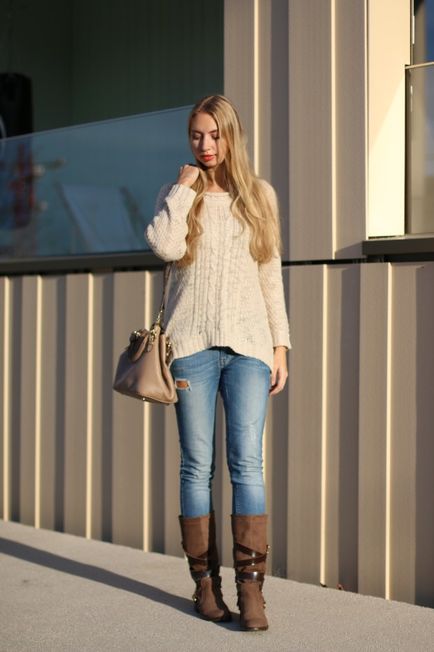 winter outfit strickpullover fashion