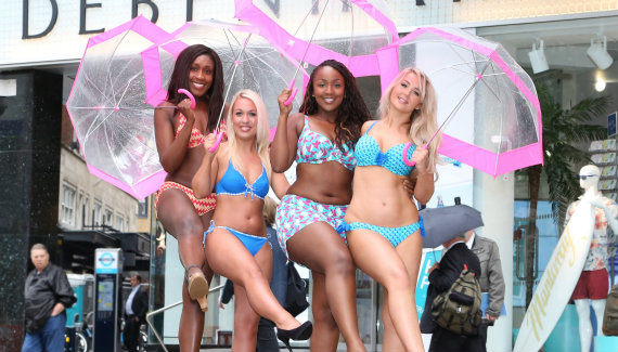Curvy Kate model mates winners