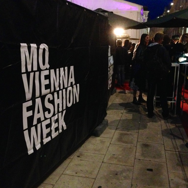 MQ Vienna Fashion Week Eingang