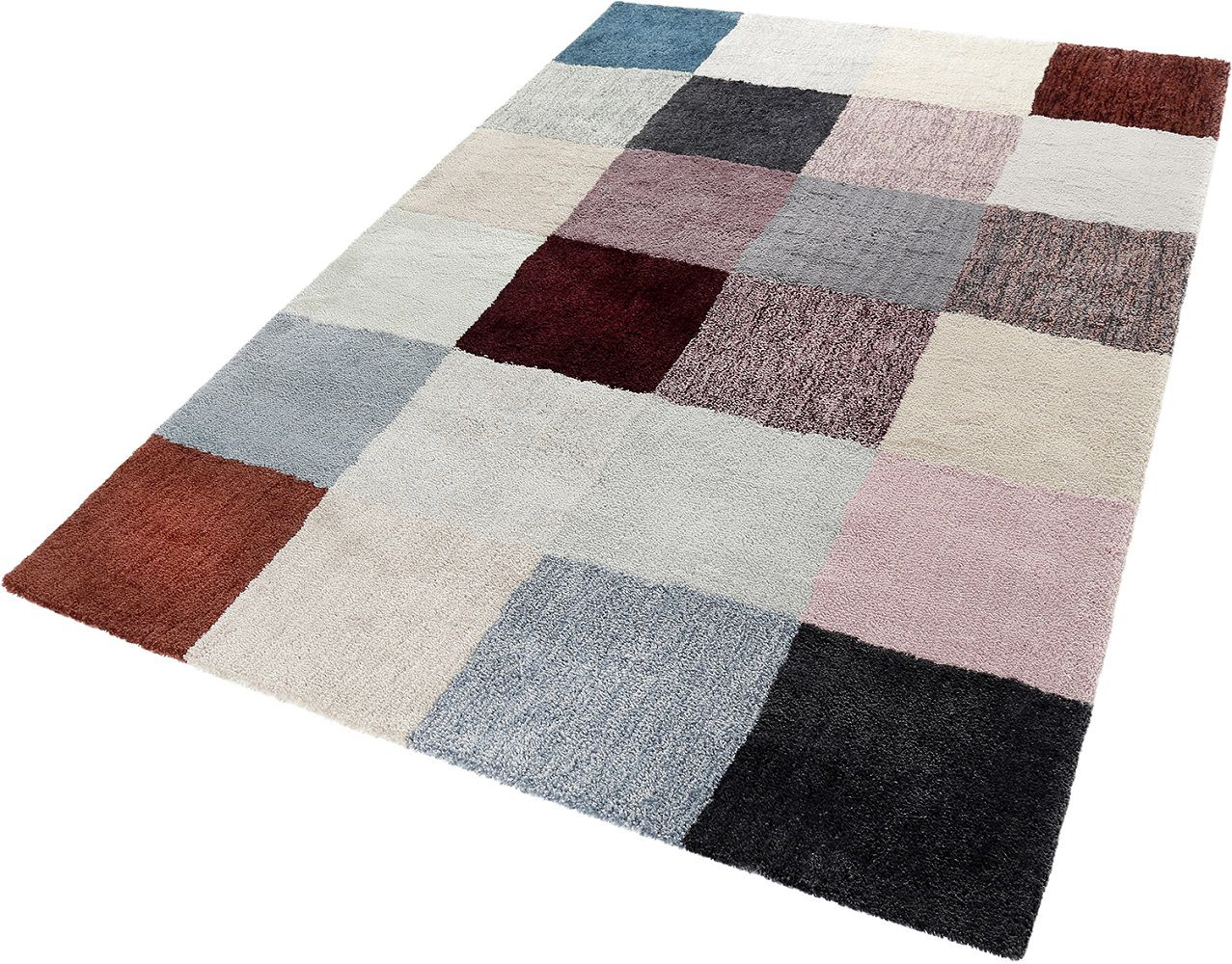 Teppich Esprit Relaxx Esp 4150 Xx Multicolor Raum Quadrat Fashion Your Room Der - Teppich Kinderzimmer Esprit