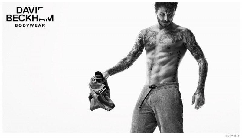 David Beckham Bodywear For HM Advertising Campaign Video photo