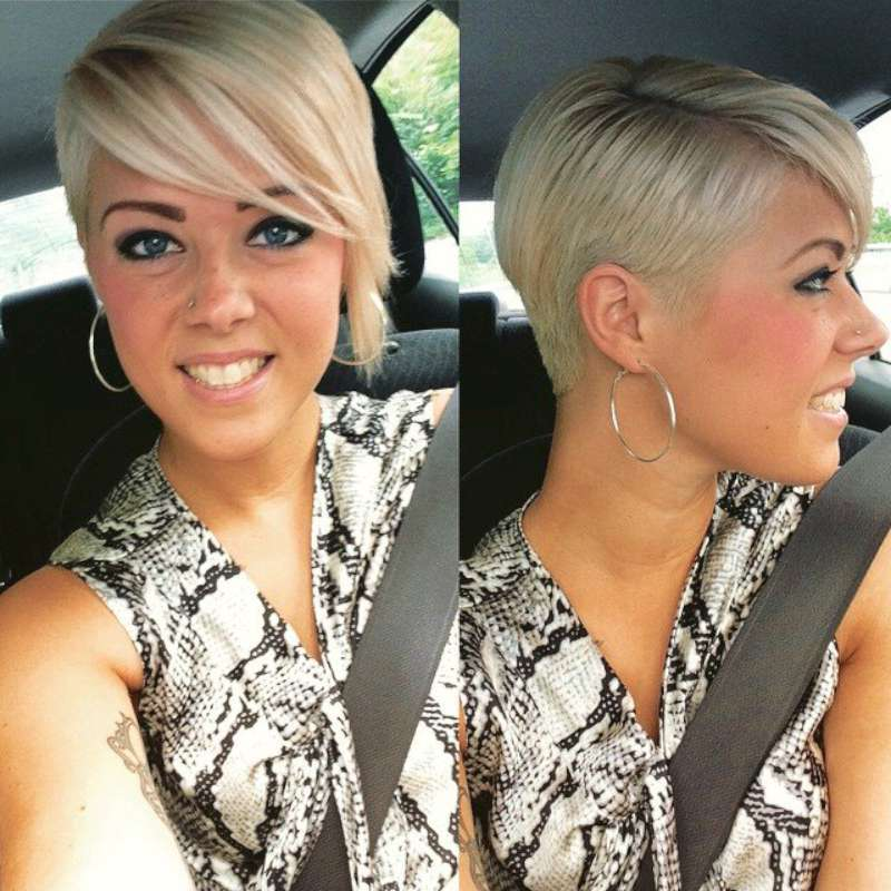 Asymmetrische Top Short Hairstyle For Women 2016 | Fashion And Women