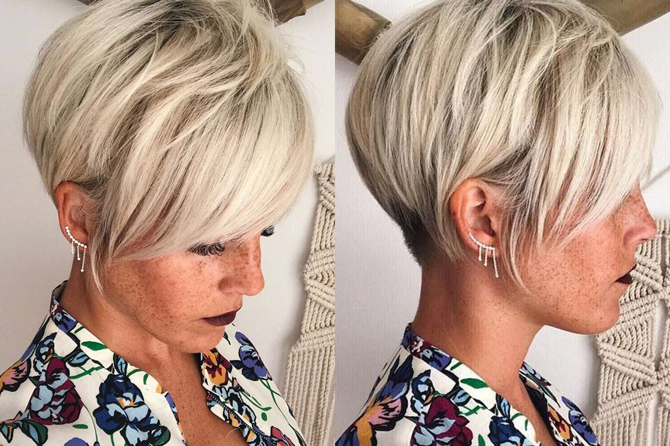 Coiffure Summer 2018 Short Hairstyle 2018 Fashion And Women