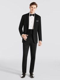 Steal the limelight with a black tuxedo  fashionarrow.com