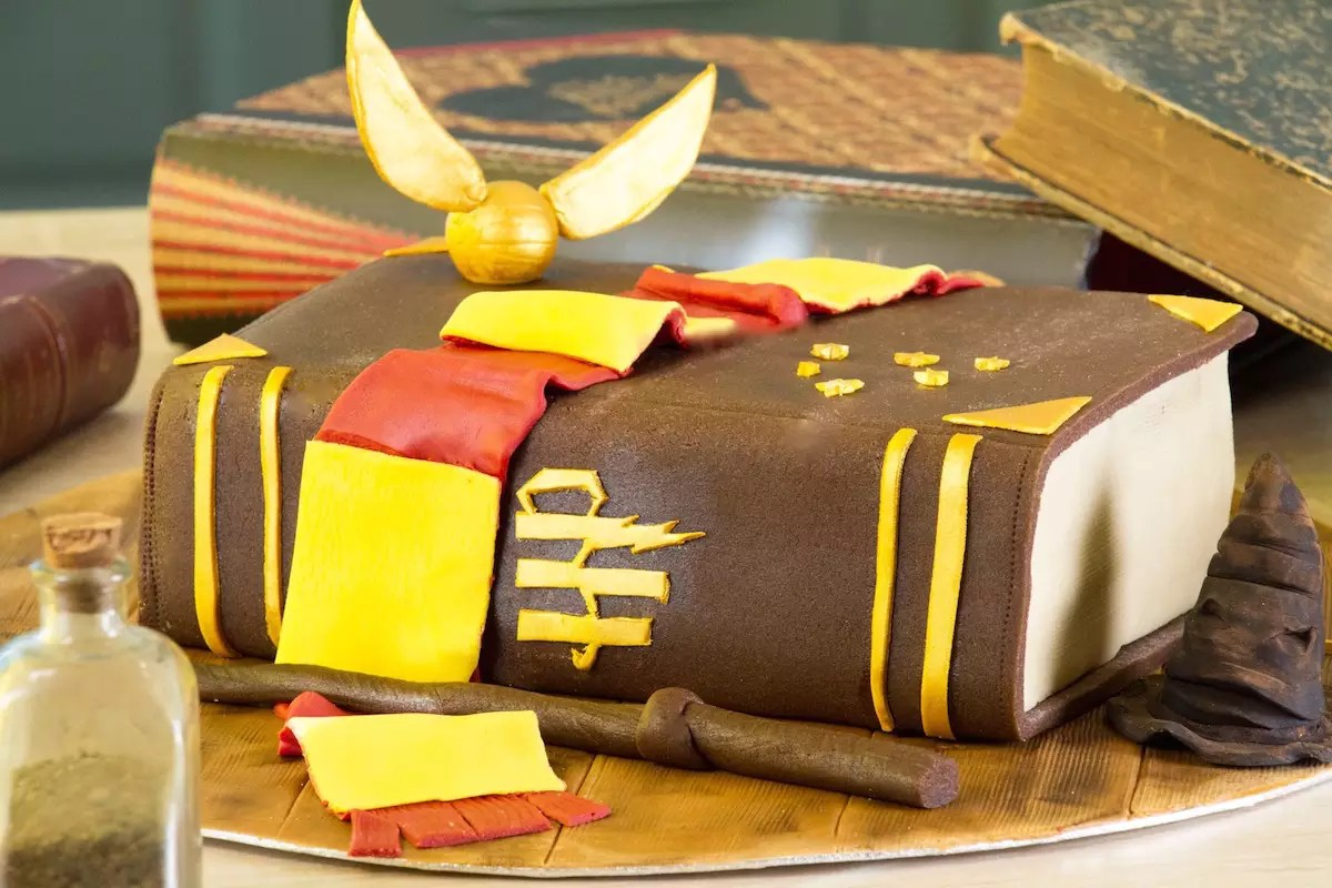 Decoration Gateau Chocolat Sucre Glace Gâteau Harry Potter