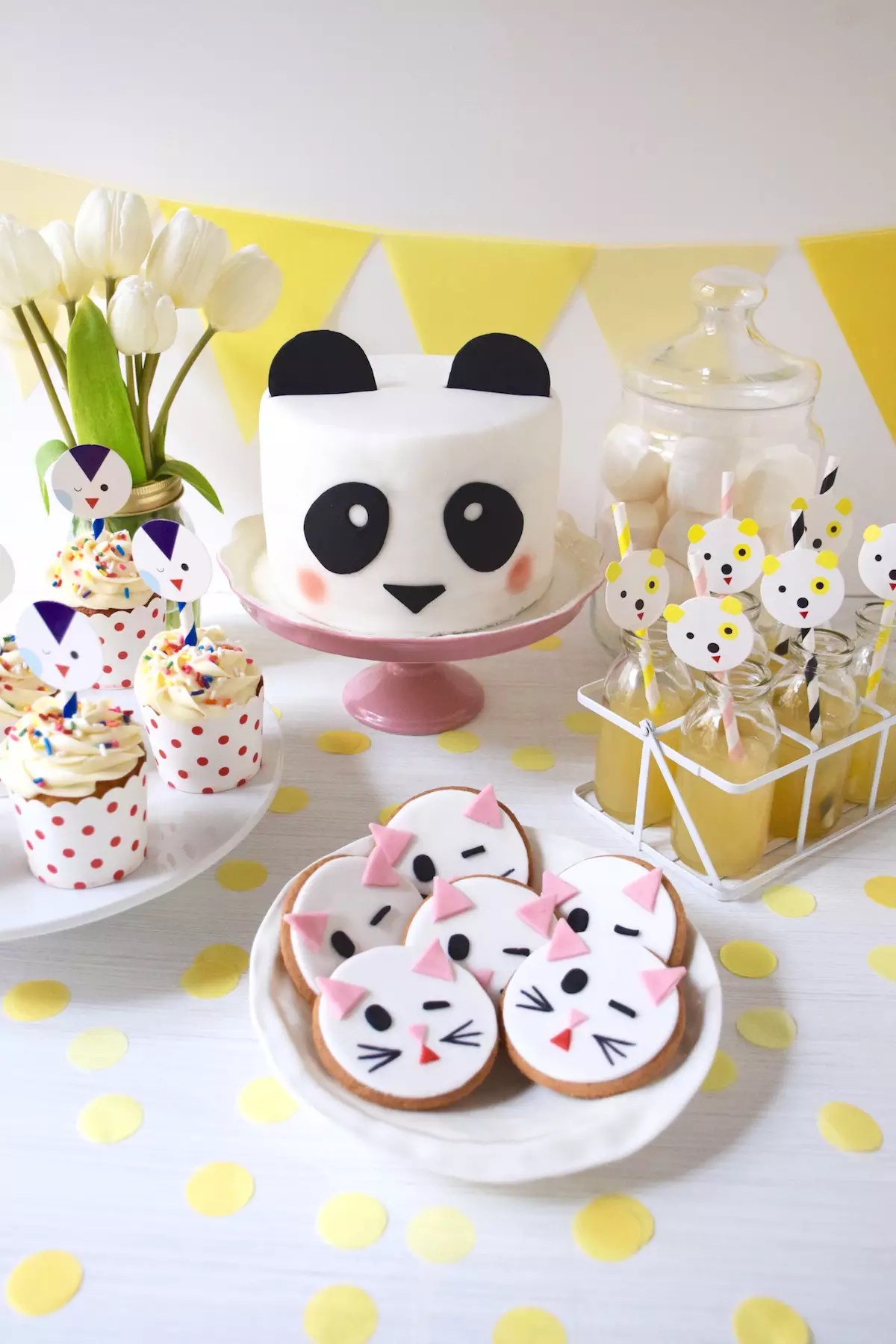Decoration Facile Gateau Anniversaire Sweet Table Facile Animaux