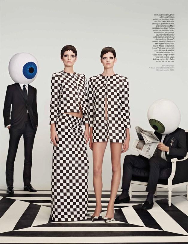 AvaSmith&BetteFrankein'OpticalAllusions'byRoeEthridgeWMagazine