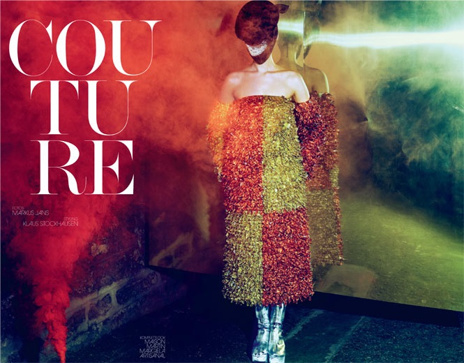 Franzi Mueller in 'Couture' by