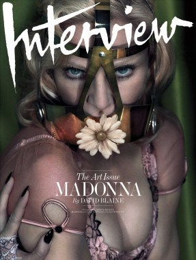 Madonna by Mert Alas & Marcus Piggott for Interview Cover