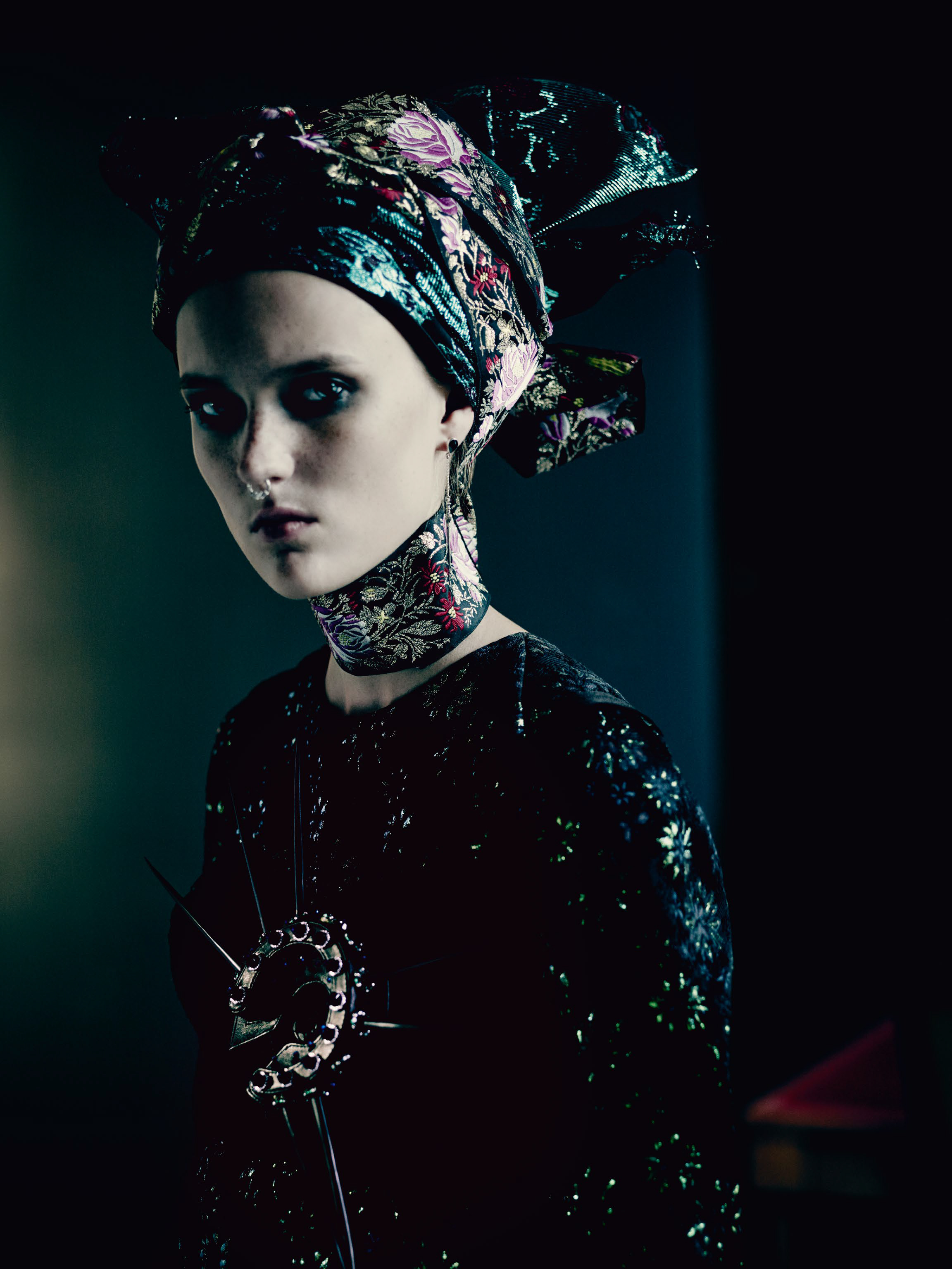 paolo roversi �the shining� for vogue uk september 2015