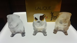 "Lalique collection ""nature sauvage"""