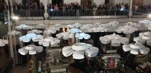 Exposition ame nochi hana, studio Nendo, Le Bon Marché Paris