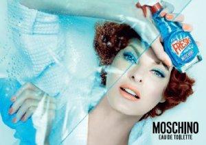 Linda Evangelista Fresh Couture Moschino