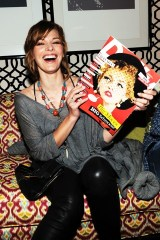 Milla Jovovich attends the Mercedes-Benz Fashion Week Spring 2011 Official Coverage at Lincoln Center in New York City. (Photo by Michael Buckner/Getty Images for Mercedes-Benz) on FDM www.fashiondailymag.com by Brigitte Segura