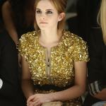 emma watson Burberry: Spring/Summer 2010 - London Fashion Week