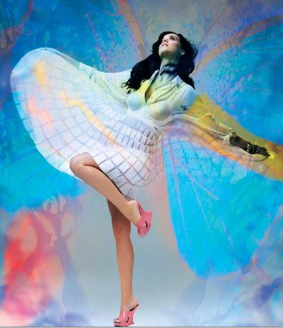 KATY PERRY in PLASTIC DREAMS for MELISSA photo 1 alexo wandael on FashionDailyMag