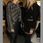 Blair Husain + Mary Snow at STUART WEITZMAN 5ave on FashionDailyMag
