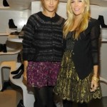fdmLOVES Charlotte Ronson Tinsley and Mortimer at Stuart Weitzman 5ave opening fdm brigitte segura