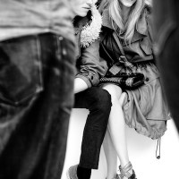 catching up: BURBERRY PRORSUM sp 012 behind the scenes