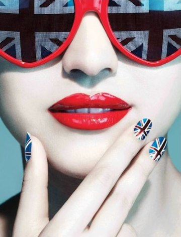 NAIL ROCK designer nail wraps fdm loves