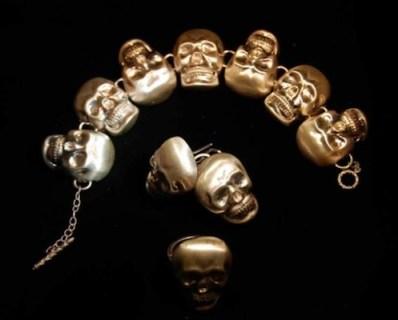 SKULL STYLE madstone skull bracelet kerri FDM LOVES