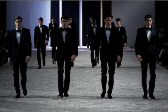 JOSEPH ABBOUD FINALE FW 12 FASHIONDAILYMAG LOVES