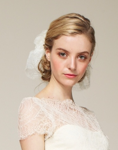 MARCHESA SPRING 2013 BRIDAL beauty LAURA MERCIER portrait FashionDailyMag loves
