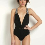 MARA HOFFMAN SWIM 2012 FashionDailyMag sel 5 black 1 pc swimsuit