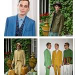 FASHIONDAILYMAG menswear spring 2013 highlights gucci TRUSSARDI and etro blues
