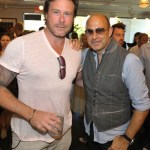 John Varvatos Event 2012 Dean McDermott and John Varvatos FashionDailyMag Selects