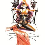 JPG Sketch of Madonna's stage costume Blond Ambition World Tour, 1989-1990 Fashiondailymag selects