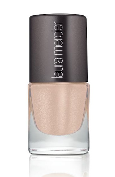 LAURA MERCIER nail lacquer organza cinema noir beauty | FashionDailyMag