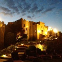SUMMER night HAMPTONS castle decadence goes La La