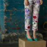 RALEIGH DENIM flower pants ss13 FashionDailyMag loves