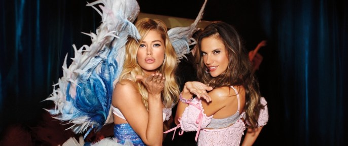 doutzen and alessandra vs calendar girls | fashiondailymag