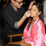 The 2012 Victoria's Secret Fashion Show-Backstage Hair and Makeup