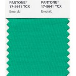 PANTONE emerald miniswatch | green for 2013
