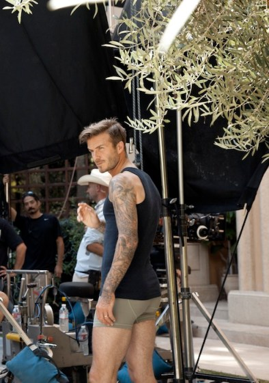 david beckham 2 | guy ritchie | HM | FashionDailyMag