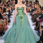 erin oconnor zac posen green FashionDailyMag green for the year
