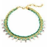 green necklace henri bendel collection | FashionDailyMag