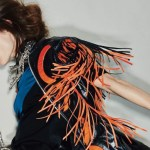 COCO ROCHA talks with GAULTIER feature