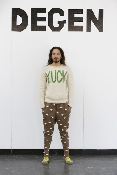 willy cartier DEGEN fall 2013 FashionDailyMag