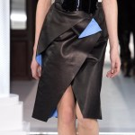MAISON VIONNET AW13 FashionDailyMag sel skirt detail