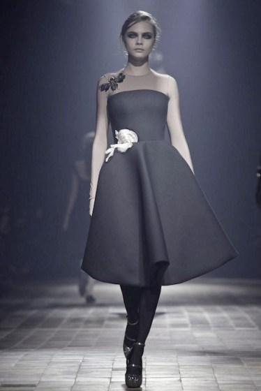 cara delevingne LANVIN aw13 FashionDailyMag sel 3
